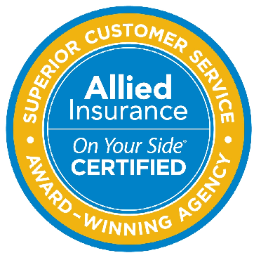 Allied Insurance On Your Side Certified Seal